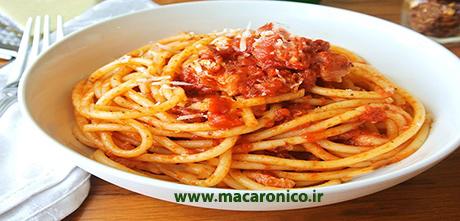 نحوه خرید ماکارونی رشته ای و اسپاگتی مک