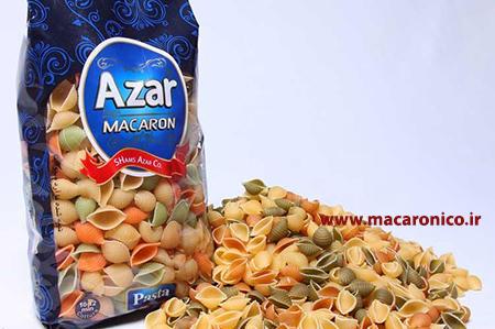 انواع ماکارونی آذر