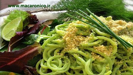 فروش ماکارونی رشته ای سبزیجات