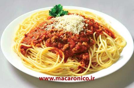 ارزش غذایی انواع اسپاگتی زر