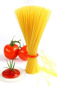 ماکارونی اسپاگتی فیبردار