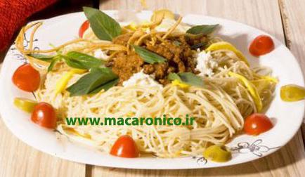 فروش انواع ماکارونی رشته ای اسپاگتی