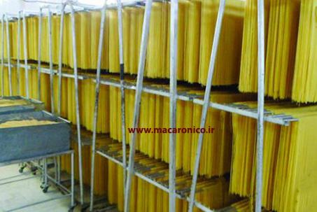 تولید ماکارونی رشته ای اسپاگتی صادراتی
