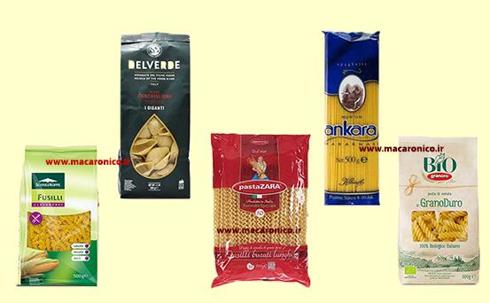فروش انواع ماکارونی وارداتی خارجی