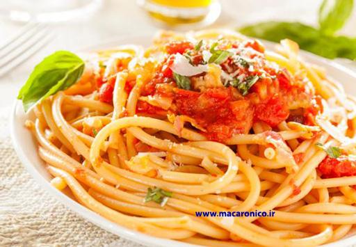 خرید عمده ماکارونی اسپاگتی ارزان قیمت