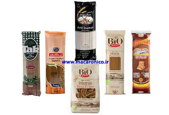 قیمت عمده انواع ماکارونی ارگانیک