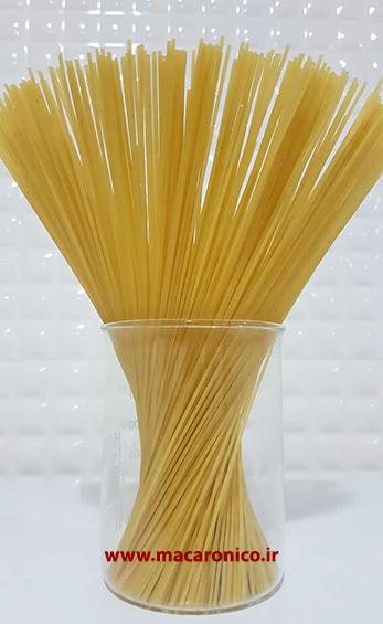 تولید ماکارونی اسپاگتی درجه یک