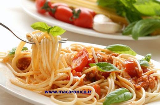 صادرات ماکارونی رشته ای اسپاگتی به عمان